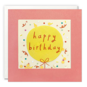 PP3544 - Birthday Balloon Paper Shakies Card