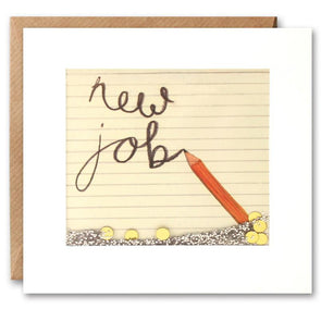 PS2278 - New Job Pencil Shakies Card