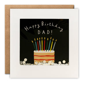 PT2871 - Dad Cake Birthday Shakies Card
