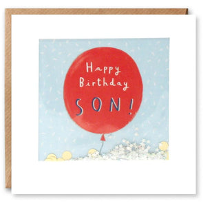 PT2881 - Son Balloon Birthday Shakies Card