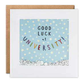 PT2987 - Good Luck at University Shakies Card