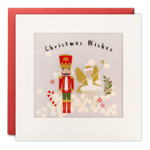 RPP3481 - Nutcracker Christmas Paper Shakies Card