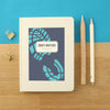 Personalised Running Hardback Lined Notebook