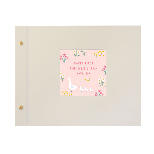 Personalised Geese Family Mother's Day Photo Album