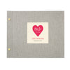 Personalised Bride To Be Hen Party Photo Album with Large Heart