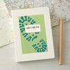 Walking notes notebook with personalisation