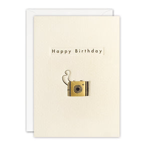TN3403 - Birthday Camera Ingot Card