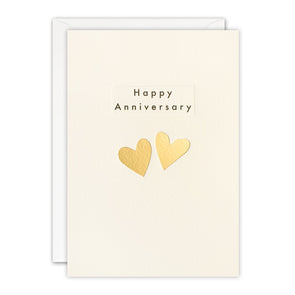 TN3495 - Anniversary Hearts Ingot Card
