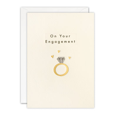 TN3496 - Engagement Ring Ingot Card