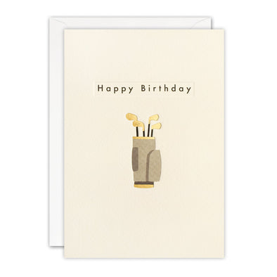 TN3497 - Birthday Golf Ingot Card