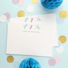 Personalised Note Cards With Dragonflies Design