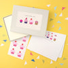 Personalised Cupcakes Writing Set with Stickers