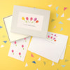 Personalised Tulips Writing Set With Stickers