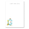Personalised Illustrated Letter G Writing Set
