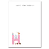 Personalised Illustrated Letter H Writing Set