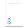 Personalised Illustrated Letter S Writing Set