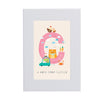 Personalised Illustrated Letter C Writing Set