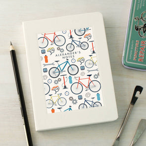 Personalised Cycling Pattern Notebook