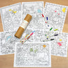 Wedding Activity Colouring Set