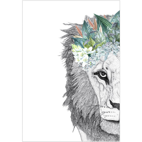 A3 Leo the Lion with Foliage Crown (limited addition)
