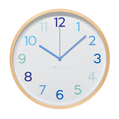 Multi Blue Wall Clock