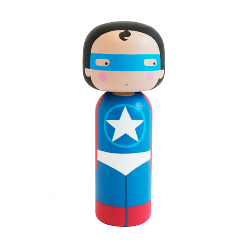Hero Kokeshi Doll