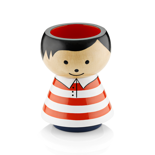Pencil Holder Boy Red Stripes