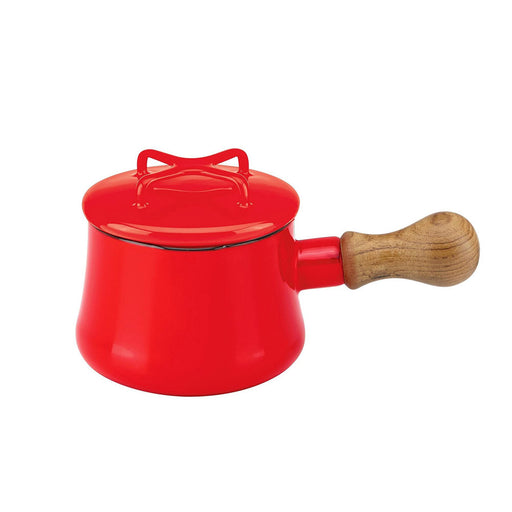 Dansk Kobenstyle Teal Mini Saucepan with Lid - Chili Red 1000ml