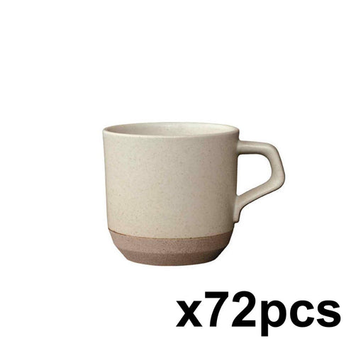 KINTO|Ceramic Lab mug beige (CLK151) - 72 pieces pack