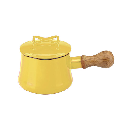 Dansk Kobenstyle Teal Mini Saucepan with Lid - Yellow 1000ml