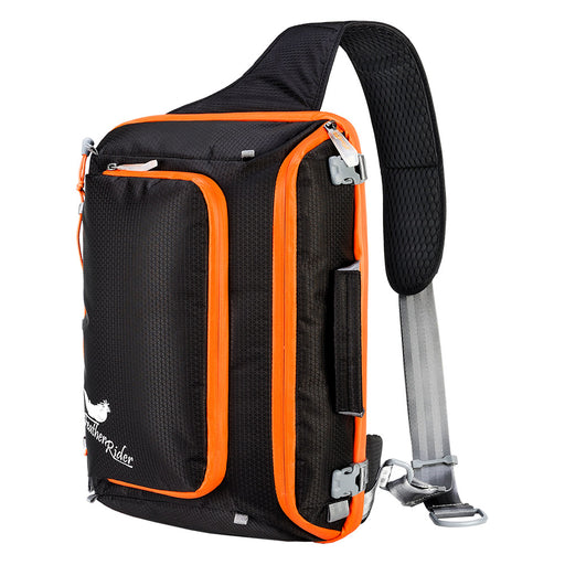 FEATHER RIDER|Multi-functional Snowboard Sling Bag - Black