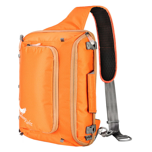 FEATHER RIDER|Multi-functional Snowboard Sling Bag - Orange