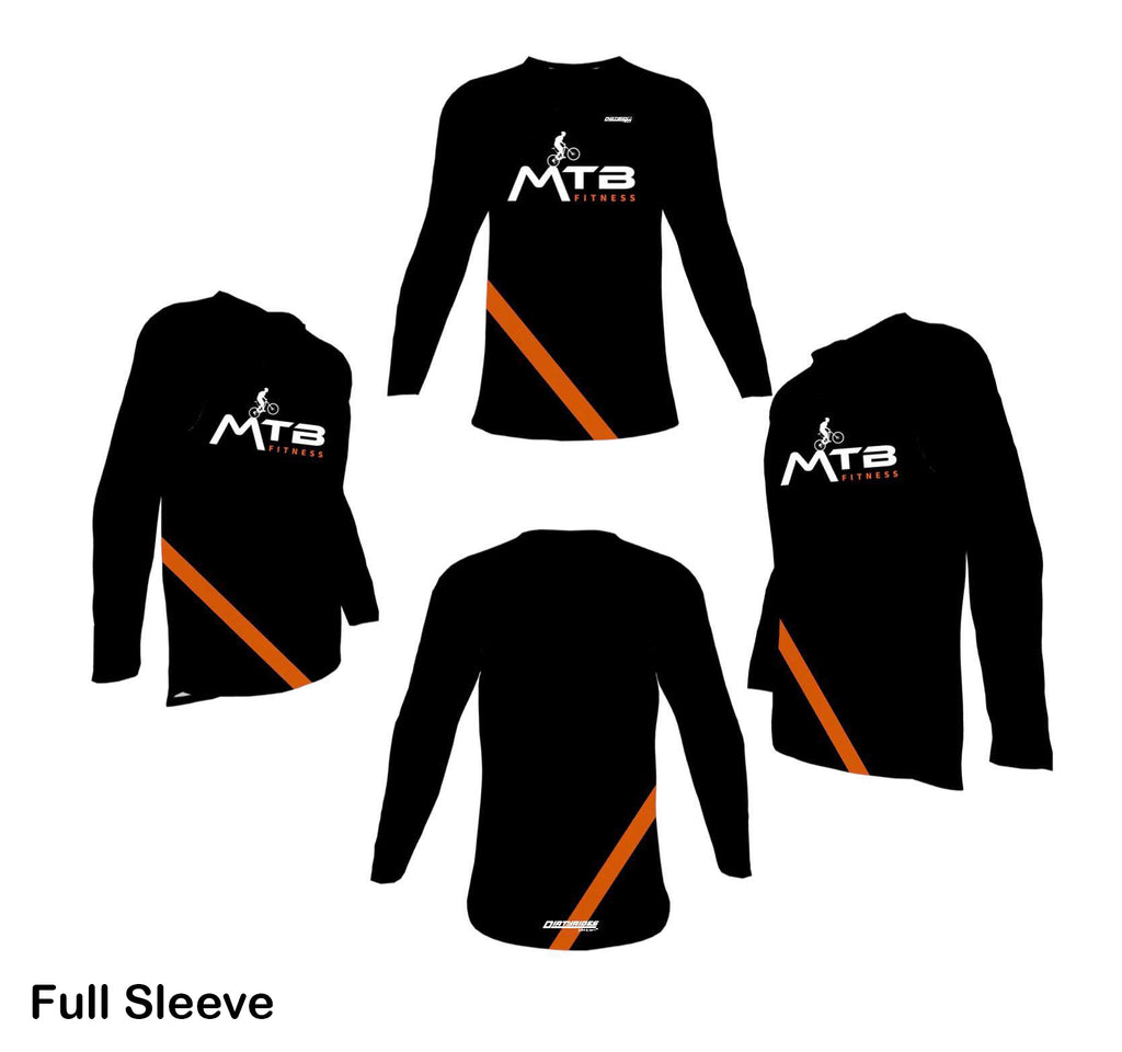 Limited Edition Black & Orange Jersey