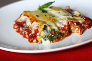 Vegan Spinach and Two Cheese Cannelloni