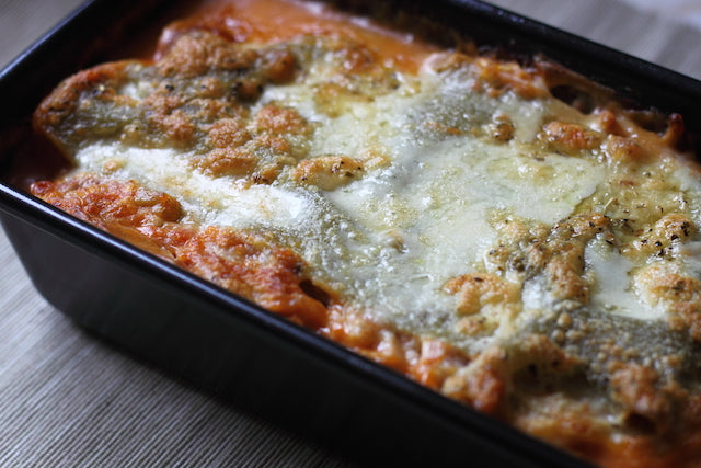 Vegan Lasagne with Vegan Cheese