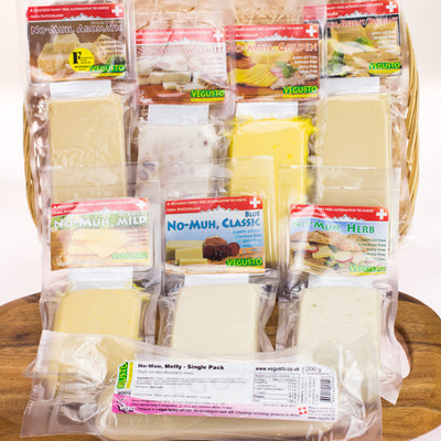 Dairy-Free Cheese | Vegusto Complete 1.8kg 8-Pack