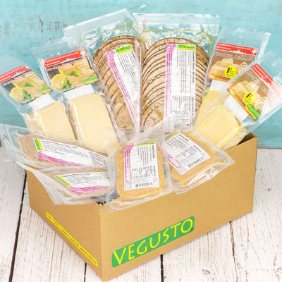 Vegusto Lunches Pack - Vegan Cheese & Vegan Sandwich Slices