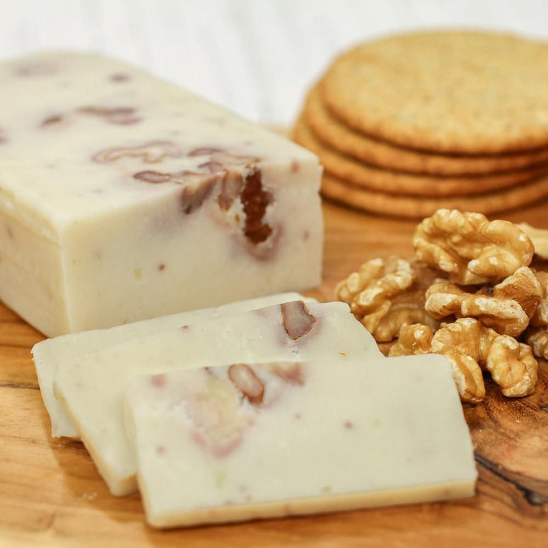 Dairy-Free Cheese | No-Moo Walnut | Vegan Cheese Alternative