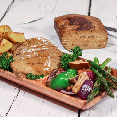 Porcini Mushroom Vegan Roast ~ Wild Porcini Mushrooms - Full of flavour ~ 500g