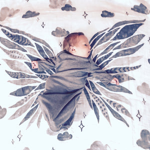 Angel Wings Organic Baby Swaddle