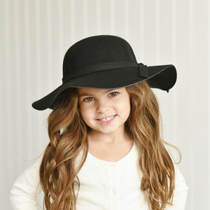Girls Large Brimmed Hat
