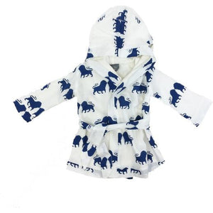 Kids Bath Robe; Organic-BATH-KATE QUINN ORGANICS-12-24 MO-Harvest Moon Kids
