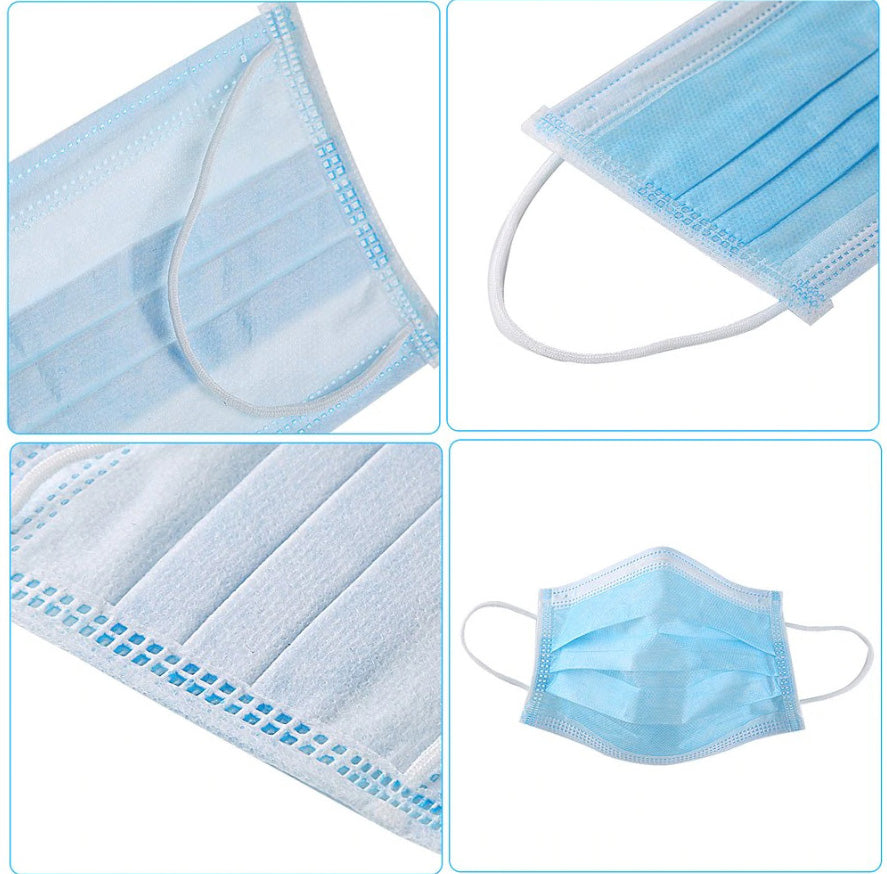 Medical 3 Ply of Melt Blown Filter (50 PCS)