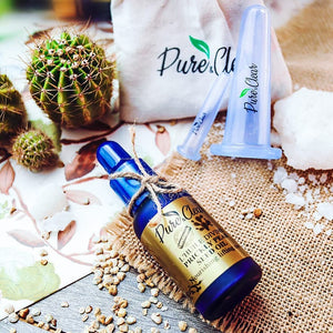 Facial VIP Pack : Face cups + Prickly Pear oil