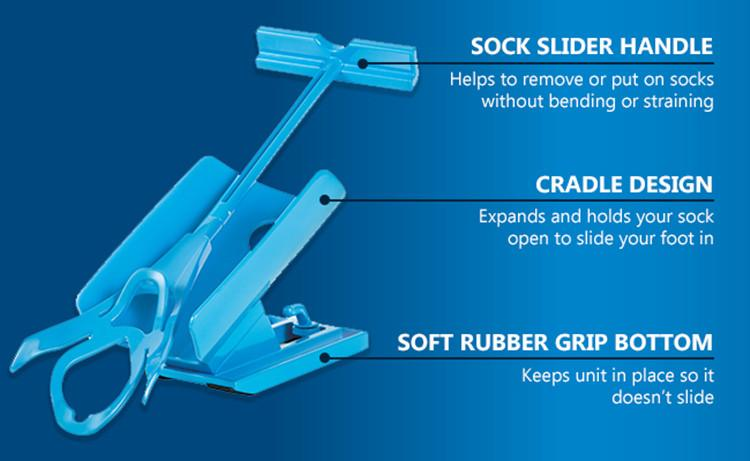 Slider Kit for Socks - helper to slide socks
