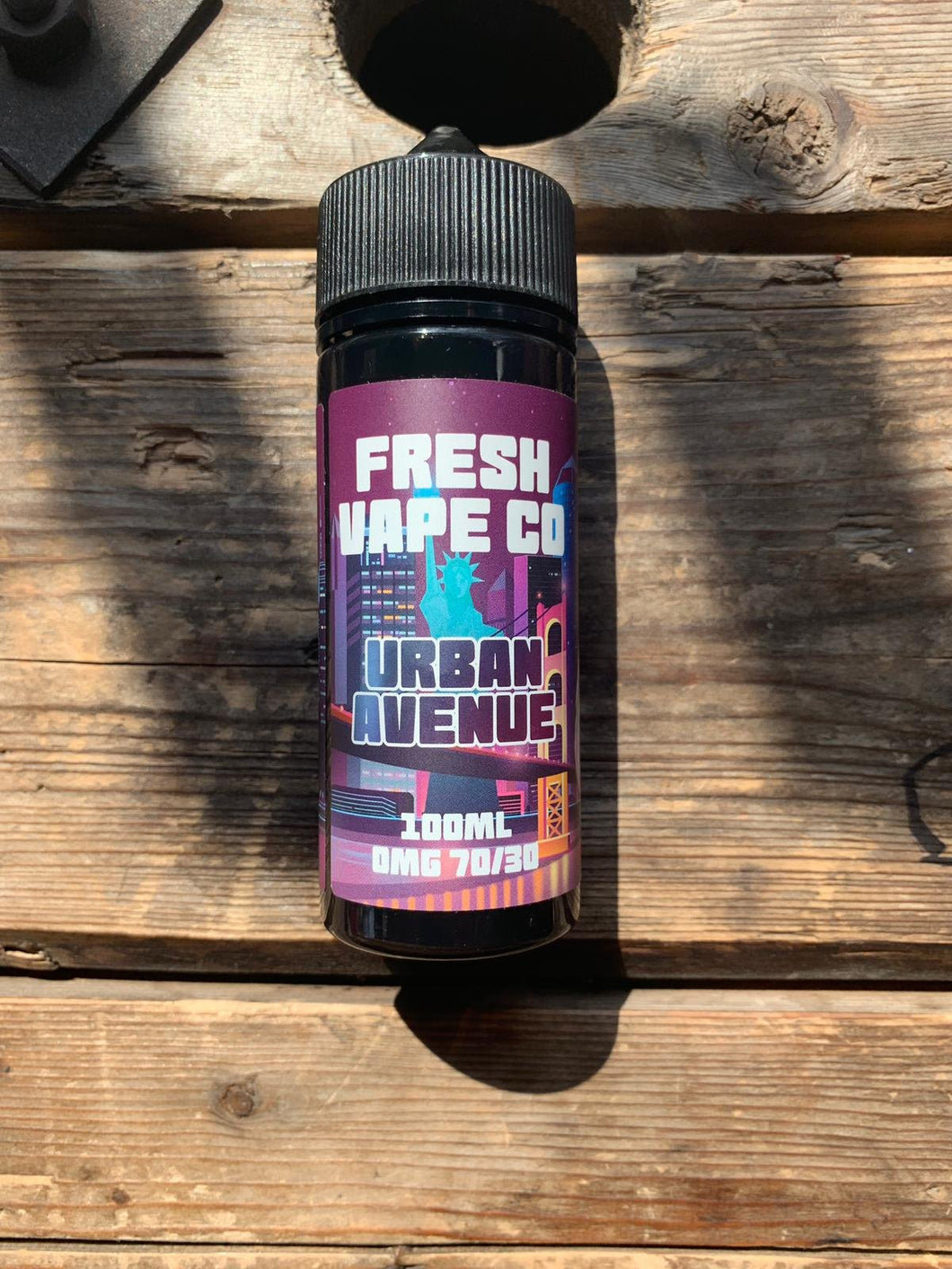 Urban Avenue 100ml by Fresh Vape Co E-Liquid