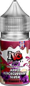 APPLE BLACKCURRANT SLUSH 30ML CONCENTRATE By IVG