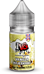 VANILLA MILKSHAKE 30ML CONCENTRATE By IVG