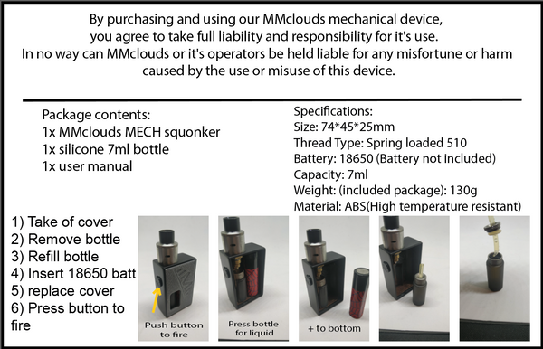 MM Squonkers - Gas Mask Women V2