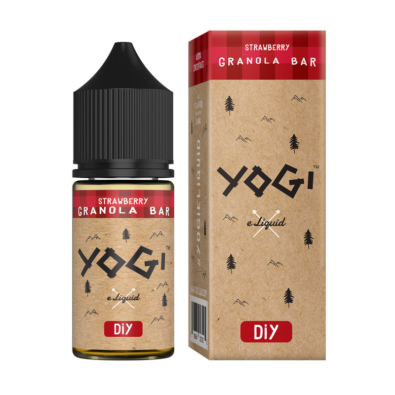 Yogi Concentrate - Strawberry Granola Bar 30ml